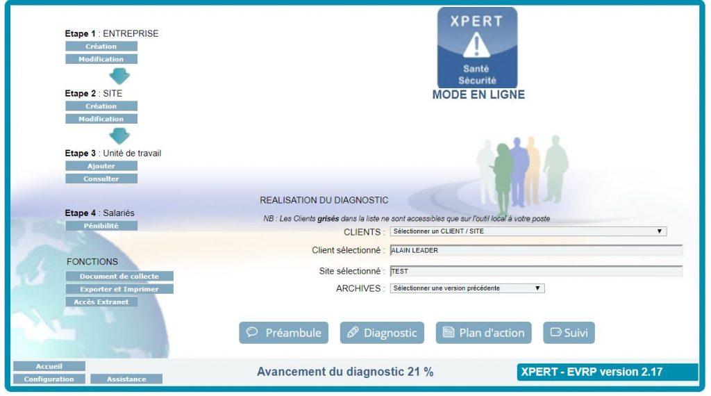 Accueil XPERT Santé-Sécurité